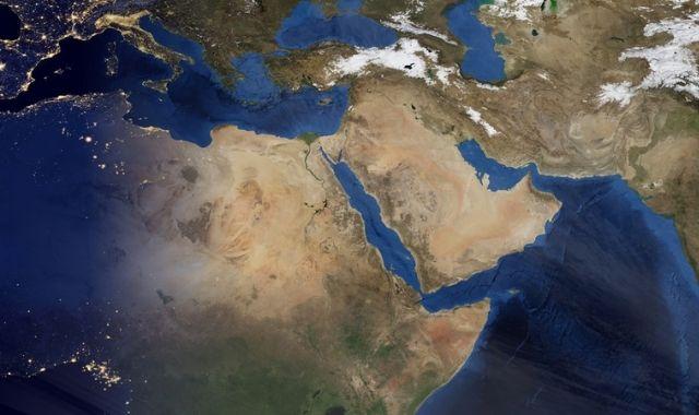 ترتيب الدول العربية من حيث المساحة
