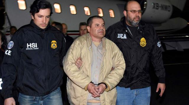 El Chapo llora por ser extraditado a México