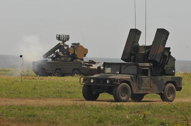 Đội Quân Phòng Không Avengers của Hoa Kỳ tham gia tập trận chung với các hệ thống phòng không Osa và Kub