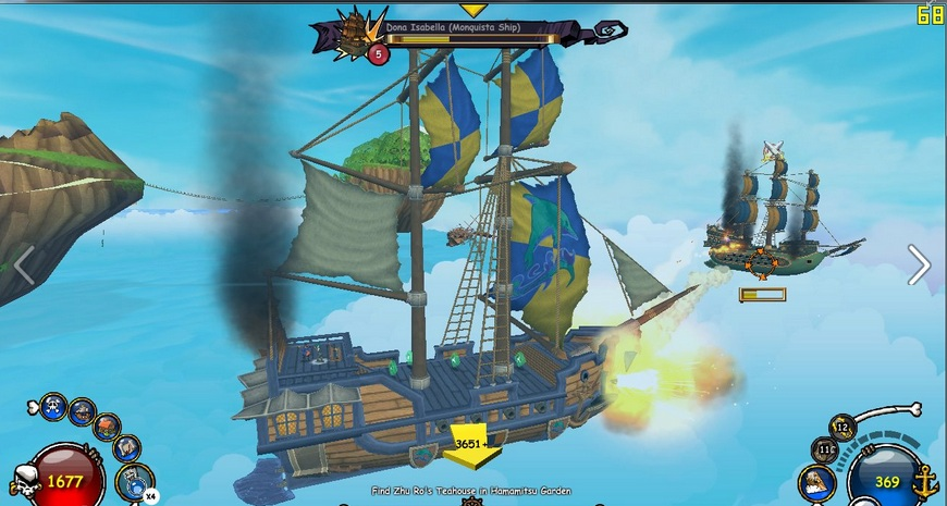 Paige's Page: Ship Combat - Pirate101