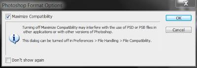 photoshop cs6 : psd save screen