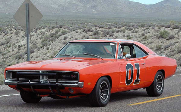 Dodge Charger for powerful cars from movies