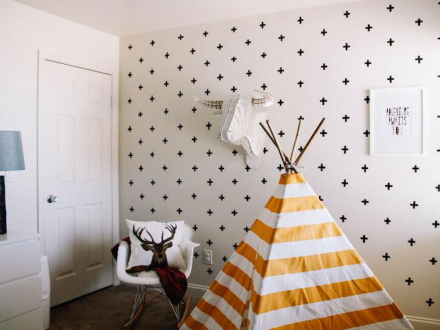 Decoração criativa para casa com fita isolante