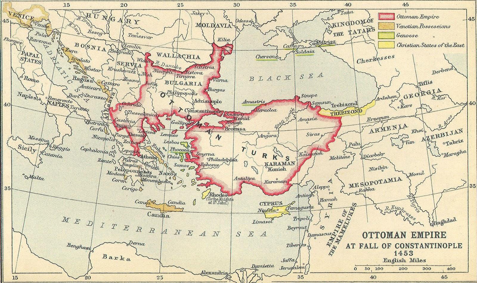 Sultan Al Fateh Sultan Mehmed menakulkkan eropa di dunia Kristen