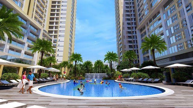 Bể bơi dự án Imperia Sky Garden Minh Khai