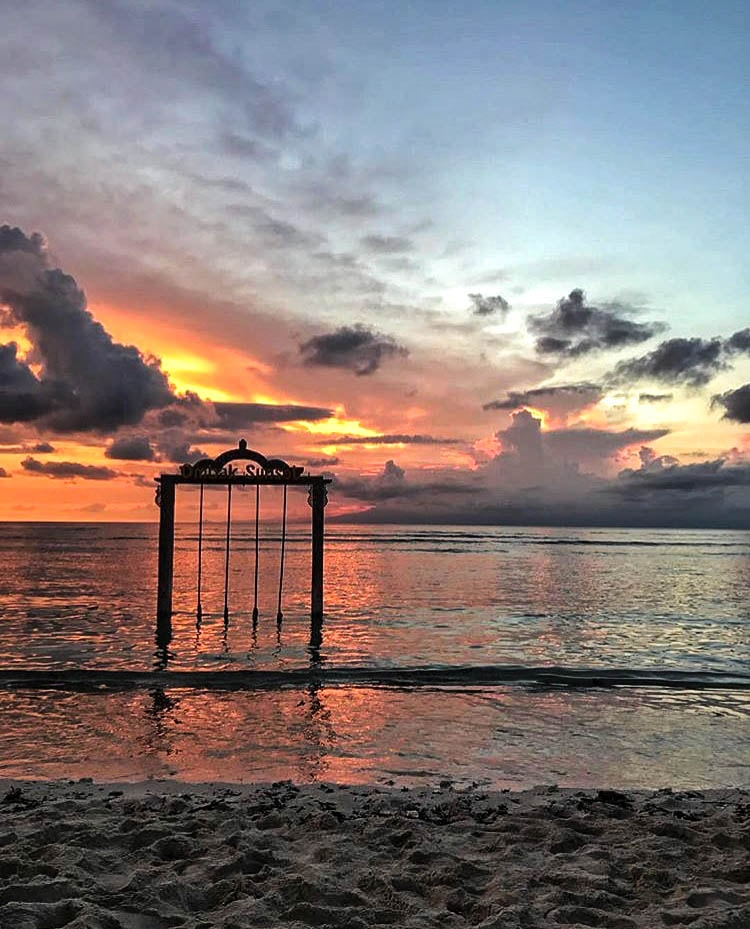 Hotel Ombak Sunset Review Bali Indonesia