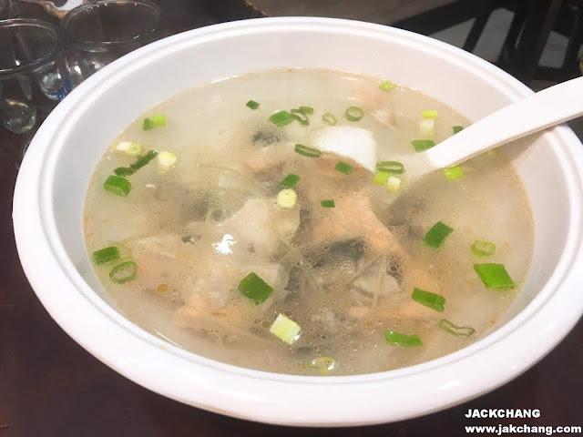 鮮魚薑絲湯