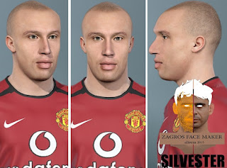 PES 2021 Faces Mikaël Silvestre by Alireza