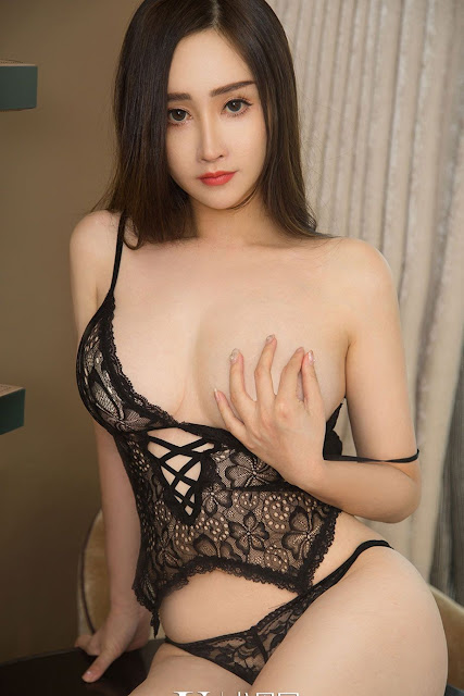 Hot and sexy big boobs photos of beautiful busty asian hottie chick Chinese booty model Luo Mi photo highlights on Pinays Finest sexy nude photo collection site.