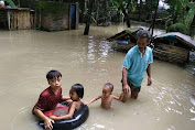 Setiap Tahun Terendam Banjir, Pemdes Pengembur Tutup Mata