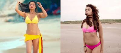 Alia Bhatt In Bikini