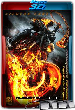 Motoqueiro Fantasma - Espírito de Vingança Torrent 2011 1080p BluRay 3D Half-SBS Dublado