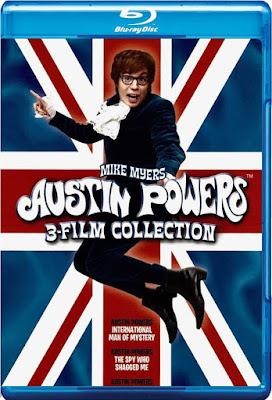 COMBO HD Austin Powers Colección VOL 706 DVD HD Dual Latino + Sub