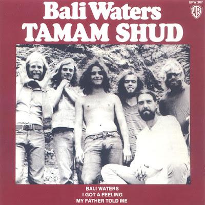 Tamam Shud Bali Waters