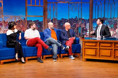 Rita, Edgar, Ricardo, Tas e Danilo (Crédito: Gabriel Cardoso/SBT)
