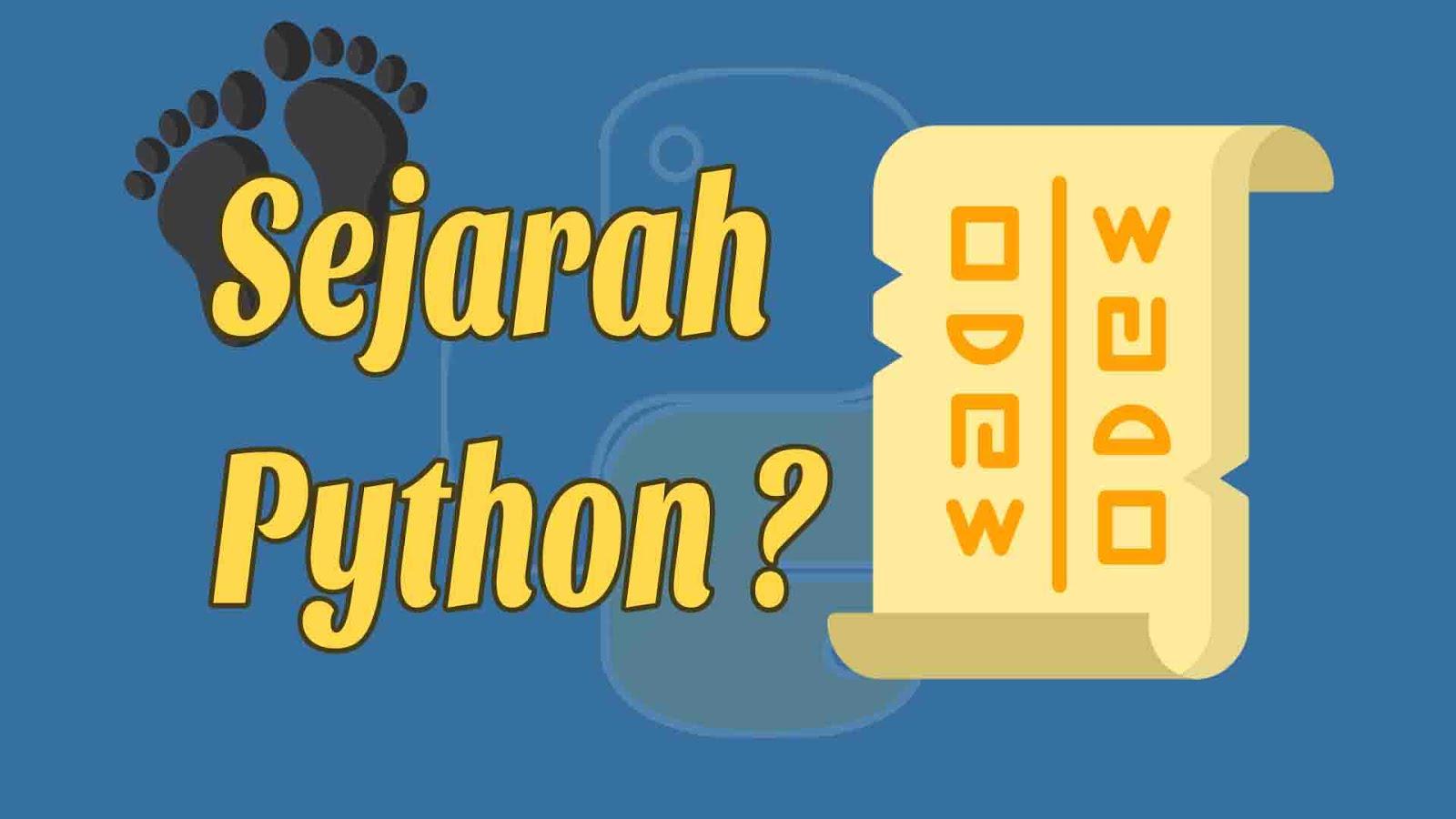 Sejarah Python