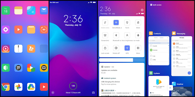 NEW IOS THEME FOR MIUI 10 - All About Tech Tricks and Hacks