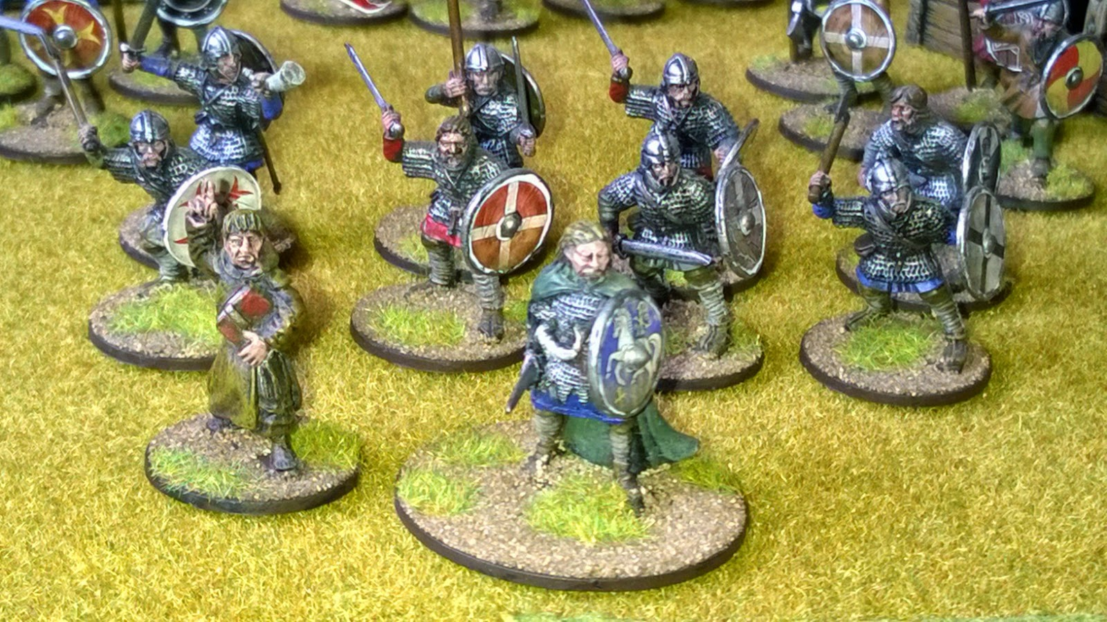 Anglo-saxon saga warband hereward the wake