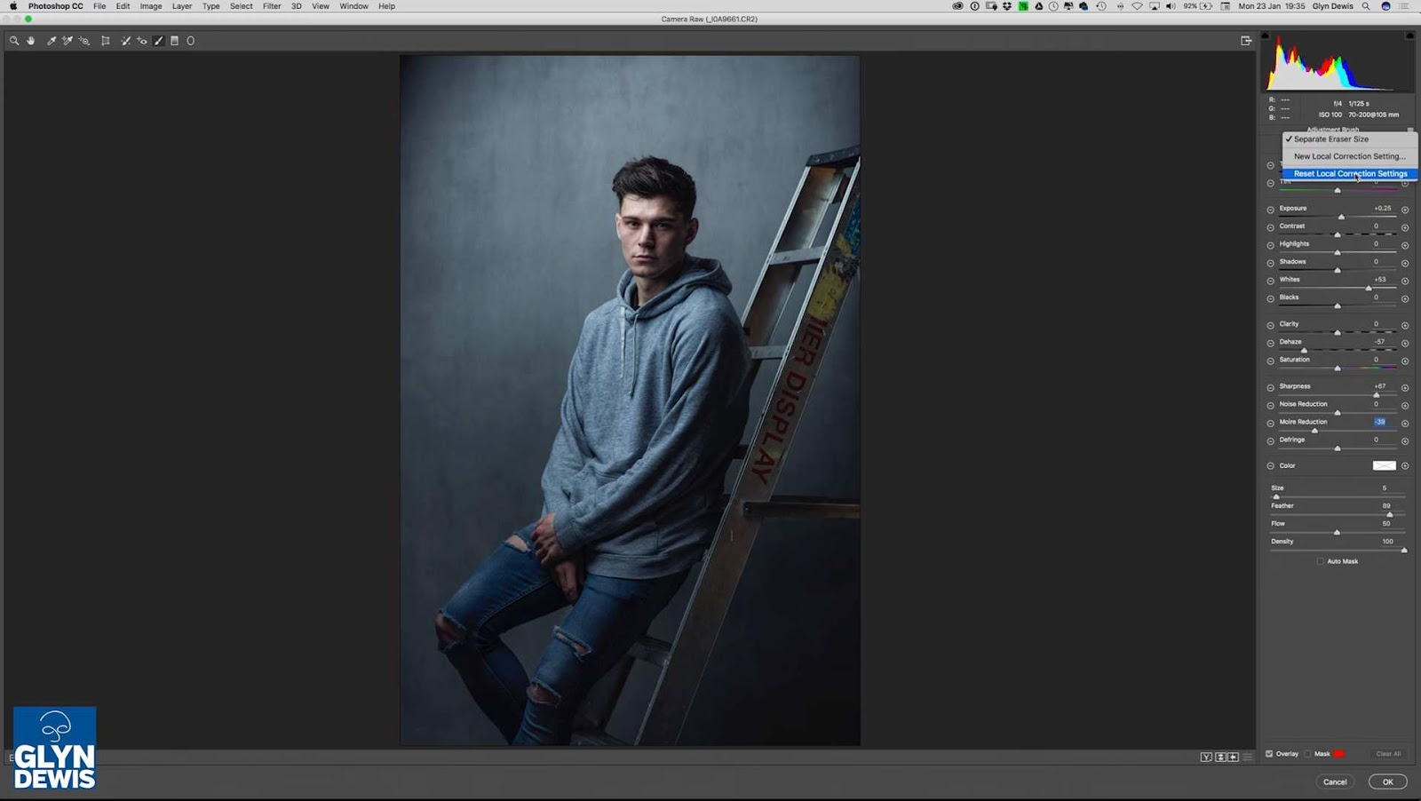 Photoshop and Lightroom: Complete Male Portrait Retouching Workflow