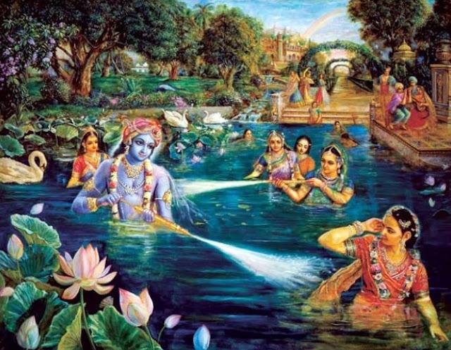 Jalakreeda of Krishna