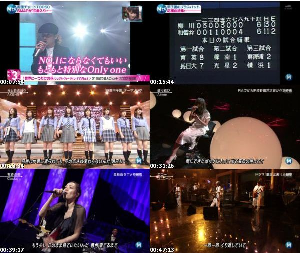 [TV-Variety] MUSIC STATION – 2016.08.19
