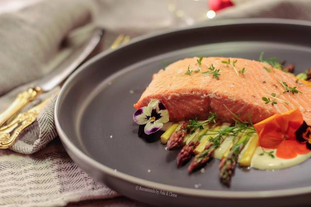 Salmón con Salsa de Mostaza www.recomiendoblog.com