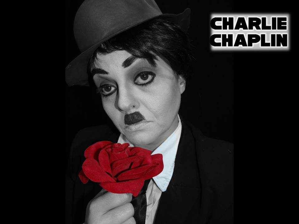 Maquiagem Charlie Chaplin – Renata Monteiro