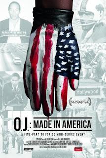 O.J. Made in America poster