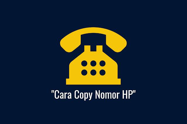 Cara Copy Nomor HP XL & Telkomsel dengan Mudah