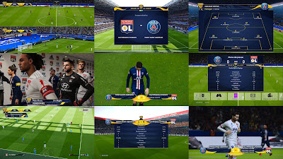 PES 2020 Scoreboard Coupe de la Ligue by Overall