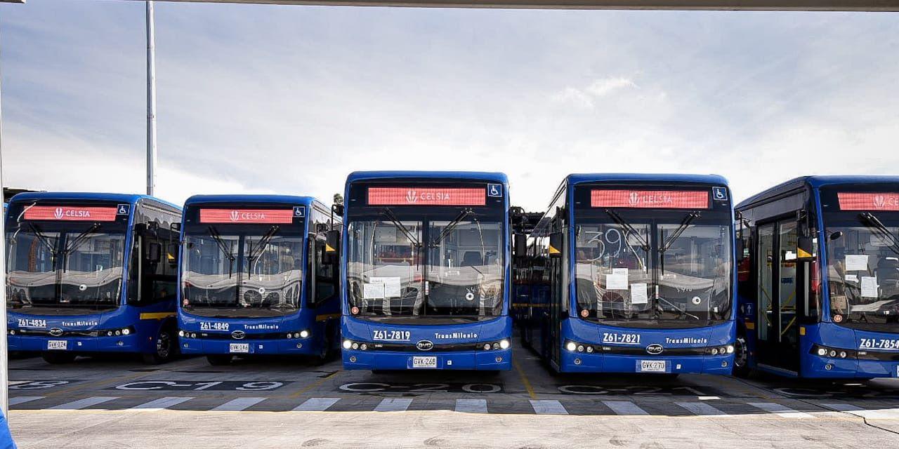 hoyennoticia.com, Celsia entregó 120 buses eléctricos a Bogotá