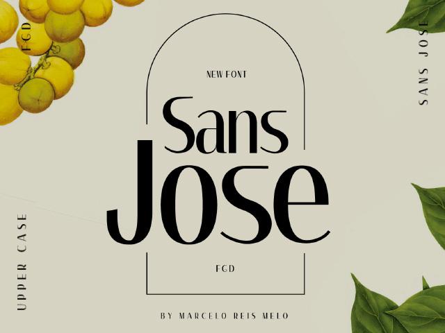 Sans Jose font