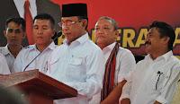 Pucuk Ketua Gerindra NTB, Ridwan Hidayat Bakal Dilantik Gantikan Willgo