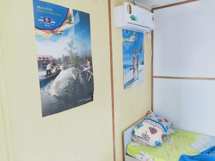 Bilik Chalet Ibrahim Kampung Baharu Ayer Tawar