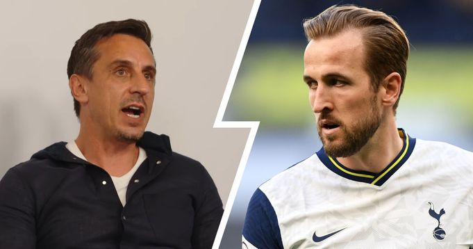 Gary Neville: Man United Should forget about the league If Kane goes to Man City
