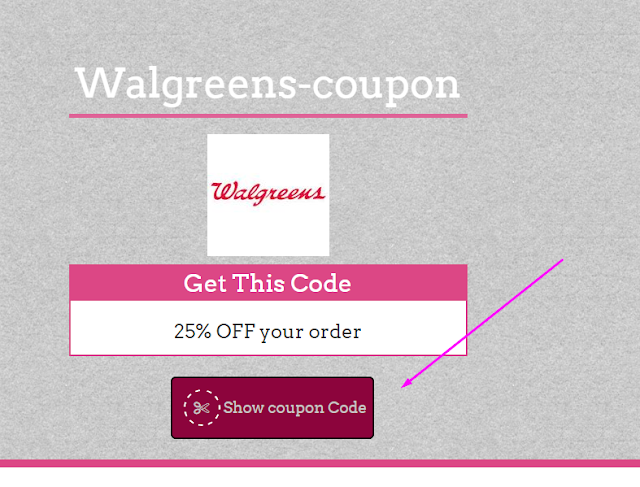 Walgreens 35% Coupon Code May 2017