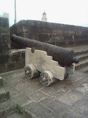Image result for cannon on a wall picture