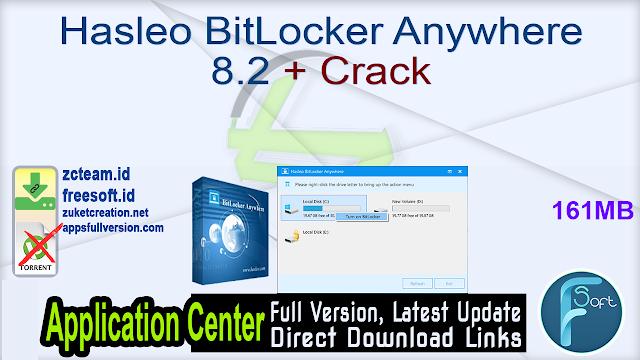 Hasleo BitLocker Anywhere 8.2 + Crack_ ZcTeam.id