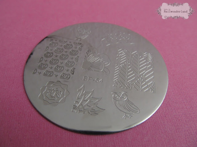 Born Pretty Store BP54 stamping plate
