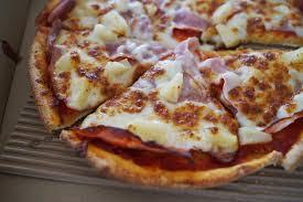 PREPARER UNE DELICIEUSE PIZZA HAWAÏENNE ÉPICÉE
