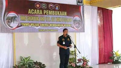 Bupati Cilacap Buka TMMD Sengkuyung III Tahun 2021 di Desa Wringinharjo