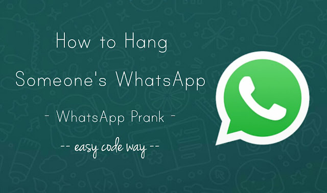 How to Hang Someone's Phone Via WhatsApp Message