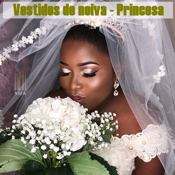 Vestidos de noiva princesa inspiração
