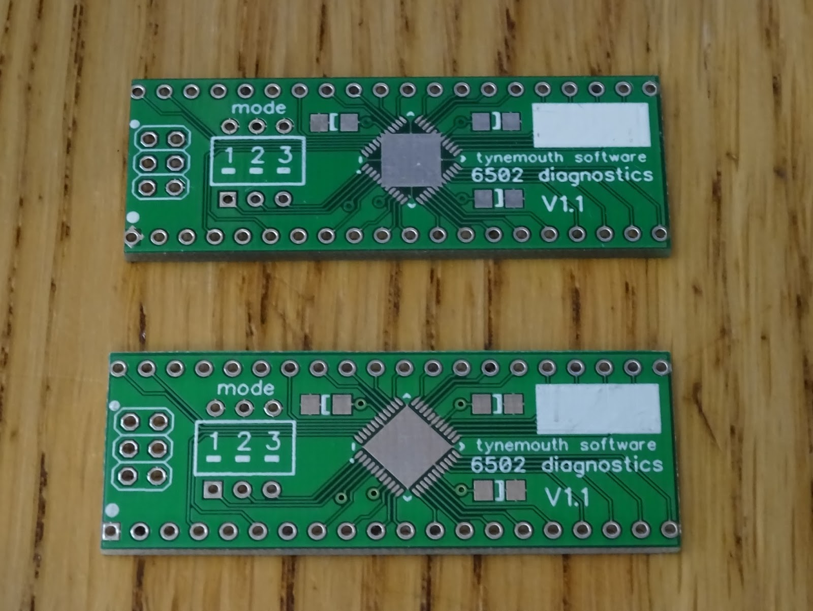 Tynemouth Software 6502 Diagnostics Update Logic Diagram The First Version Of This Board Arrived With An Error From Pcb Manufacturers For Some Reason They Had Modified My Design And Rotated Ground Pad