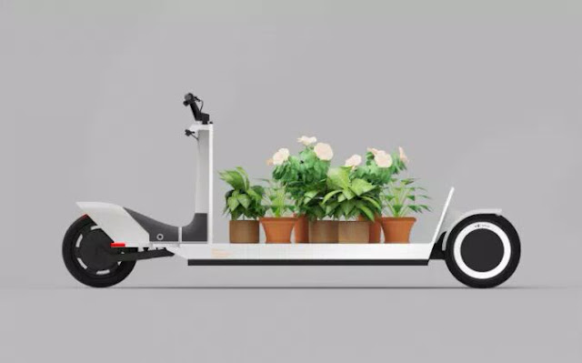 Electric cargo sled