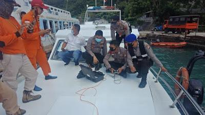 Ditpolairud Polda Banten, Berhasil Evakuasi  Jenazah Korban Tenggelam di Merak