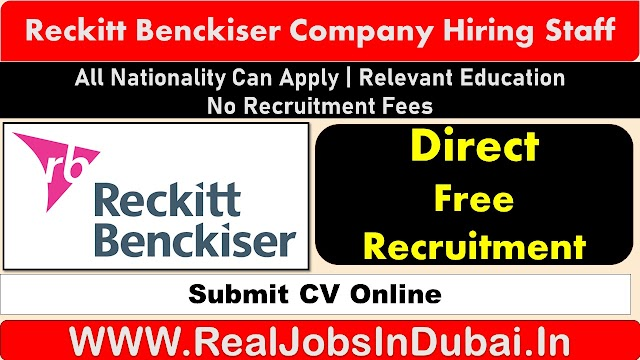 Reckitt Benckiser Careers Jobs opportunities