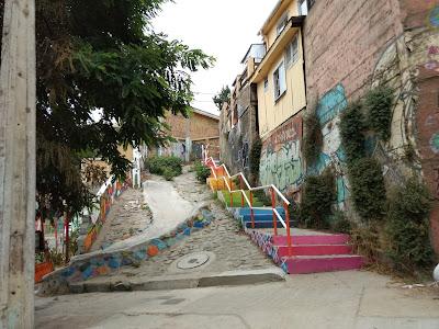 Vacaciones en una de las ciudades más coloridas de   Valparaíso en Chile