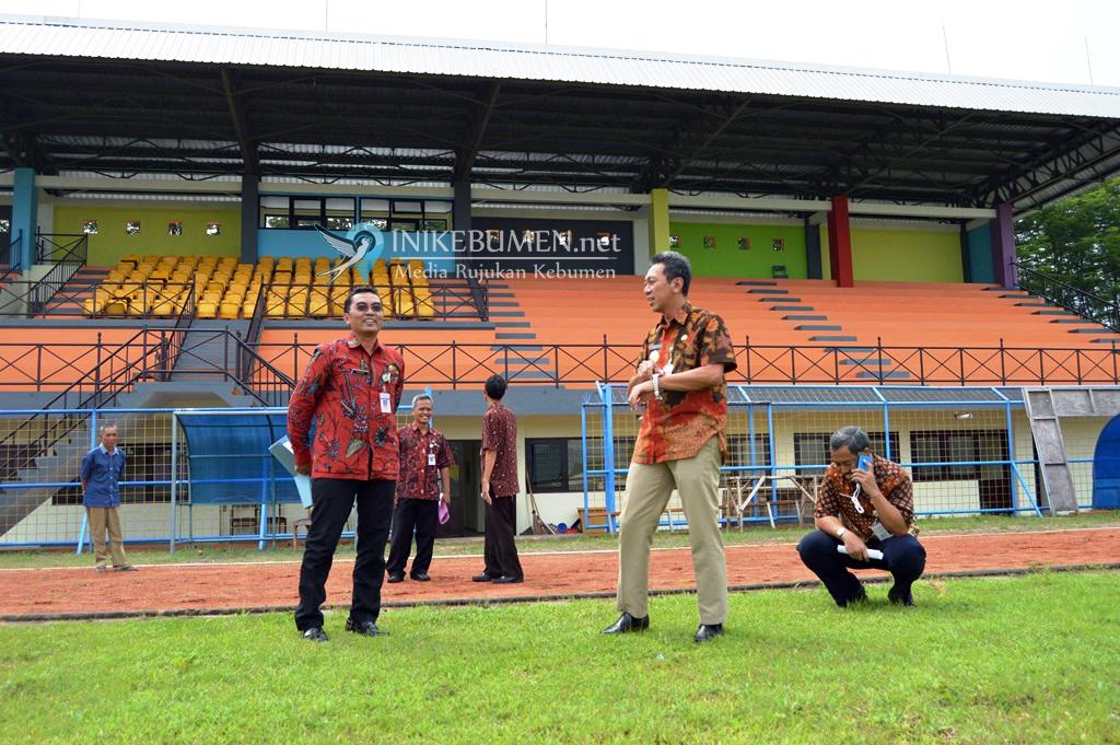 Launching Stadion Chandradimuka, Bupati Kebumen Bakal Main Bola Malam Hari