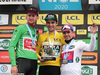 CICLISMO EN RUTA - Nairo Quintana gana la última etapa y Schachmann la general de la París-Niza